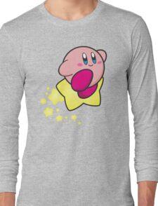 Ride on Kirby Long Sleeve T-Shirt