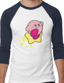 Ride on Kirby Men's Baseball ¾ T-Shirt