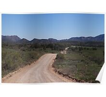 A Drive Through The Flinders Ranges Poster