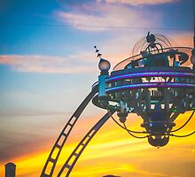 Tomorrowland Sunset by dkelly1126