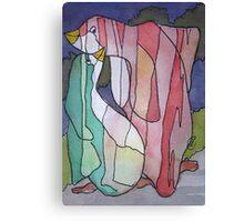 Pixelated Penguin  Canvas Print