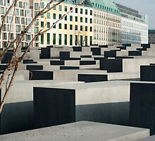 Memorial to the Murdered Jews by photoeverywhere