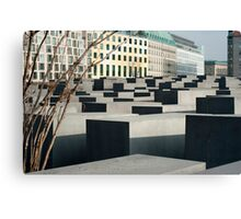 Memorial to the Murdered Jews Canvas Print
