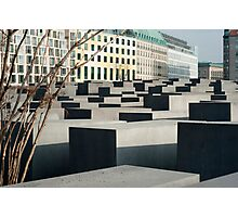Memorial to the Murdered Jews Photographic Print