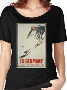Vintage poster - Germany Women's Relaxed Fit T-Shirt