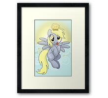 Derpy Phone Case Framed Print