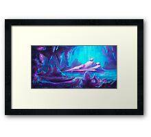 Magic Cave Framed Print