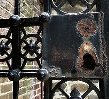 rusted gate by Erik Custer