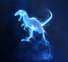 Deinonychus Patronus Charm by VaultScout