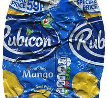 Rubicon Mango - Crushed Tin by Jovan Djordjevic