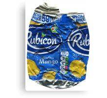 Rubicon Mango - Crushed Tin Canvas Print