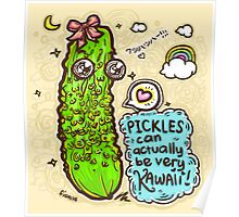 Pickles Can Be Very Kawaii! Poster