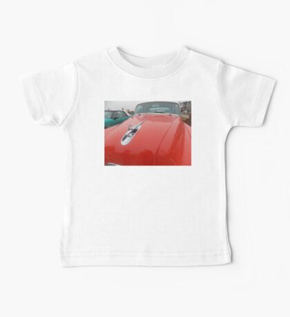 Classic Red Car Baby Tee