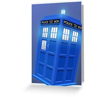 Doctor Who TARDIS Phone Case Greeting Card