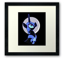 Nightmare Moon Phone Case Framed Print