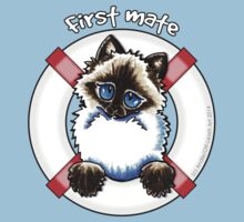 Ragdoll/Ragamuffin : First Mate Baby Tee