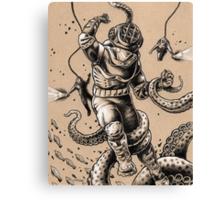 Danger Dive Canvas Print