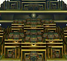 Aztec Amphitheater by barrowda