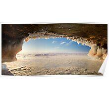 Ice Cave, Apostle Islands,WI Poster