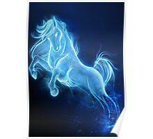 Horse Patronus Charm Poster