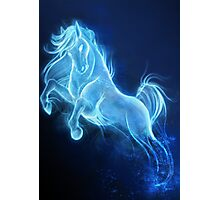 Horse Patronus Charm Photographic Print