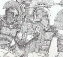 Greek Warriors Sticker