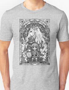 The Legend - GrayScale Unisex T-Shirt