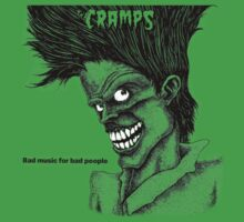 Bad Music for Bad People - The Cramps (white eyes) by evaparaiso