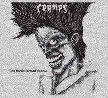 Bad Music for Bad People - The Cramps (transparent eyes) by evaparaiso