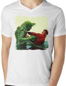 The Creature's Battle Royal Mens V-Neck T-Shirt