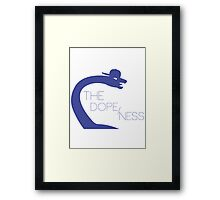 The Dope/Ness Zoom Framed Print
