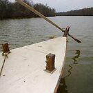 Keel Boat Rudder Oar by WildestArt