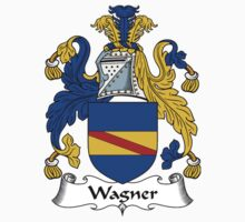 Wagner Coat of Arms / Wagner Family Crest by William Martin