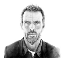 Portrait of James Hugh laurie, pencil by GB-works