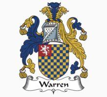 Warren Coat of Arms / Warren Family Crest by William Martin