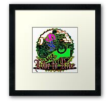 Live to Ride 15 Framed Print