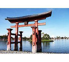 epcot - iv - japan pavilion  Photographic Print