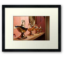 epcot - v - aladdin's lamps Framed Print