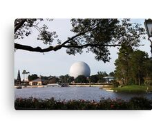 epcot - vi - across the pond Canvas Print