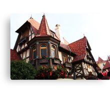 epcot - vii - france pavilion Canvas Print