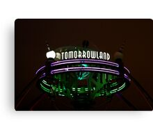 magic kingdom - i - tomorrowland Canvas Print