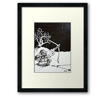 Ape Archer  Framed Print