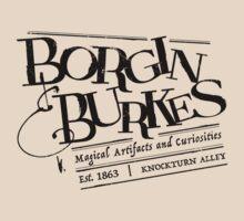 Borgin & Burkes (in black) by adamgamm