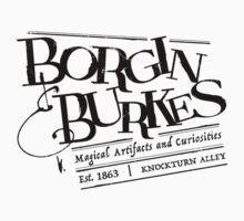 Borgin & Burkes (in black) One Piece - Short Sleeve