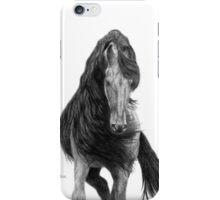 Black Flowing Manes iPhone Case/Skin