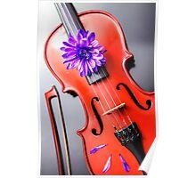 Artistic Poetic Violin Poster