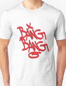Bang Bang typography T-Shirt