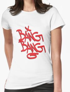 Bang Bang typography T-Shirt