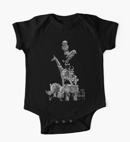 The Clockwork Menagerie (Silver) One Piece - Short Sleeve