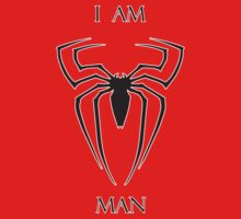 I Am Spiderman (Black) by SuperSteve